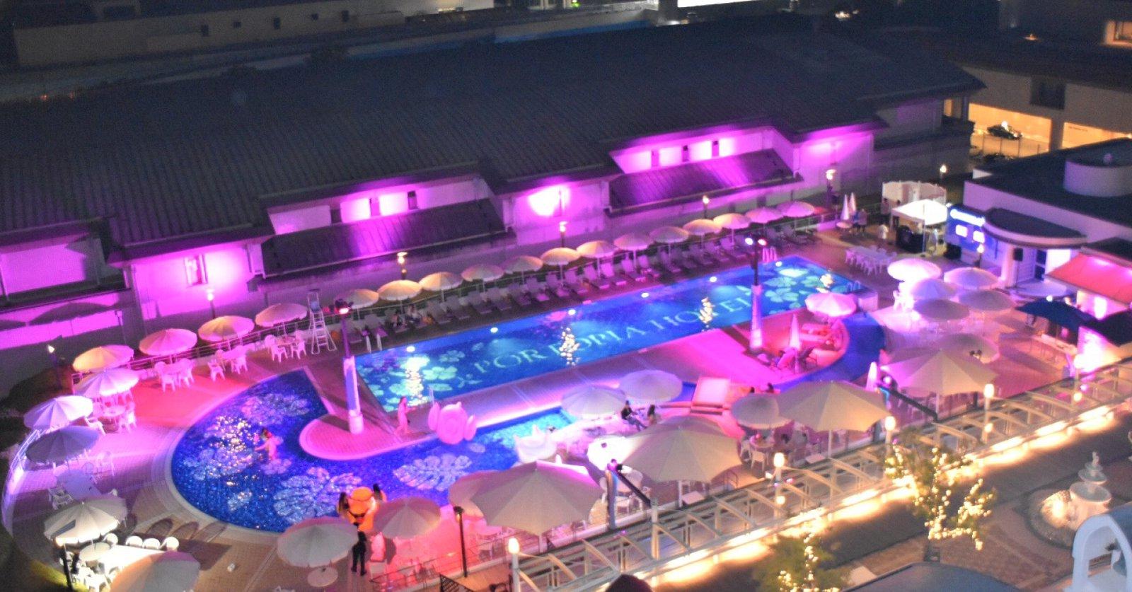 神戸 ポートピア ホテル プール