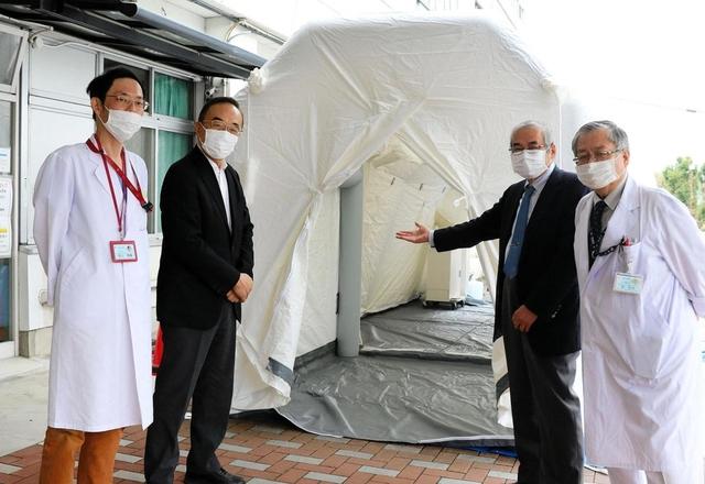 病院 佐用 共立 患者の搬送、映像で情報共有 佐用消防署など、岡山の病院と訓練 西播 神戸新聞NEXT
